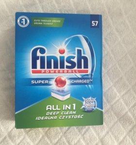 Таблетки для посудомоечной машины Finish all in 1