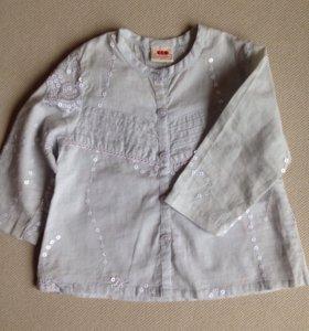 Нарядная рубашка на дев.