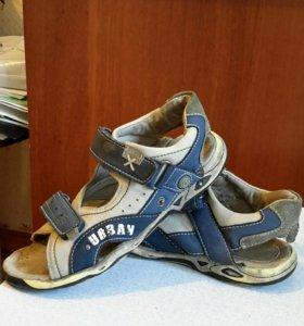 Сандали босоножки детская обувь на мальчика 34