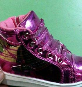 Детская обувь новая
