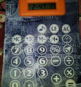 Коврик для мышки говорящий  калькулятор часы .