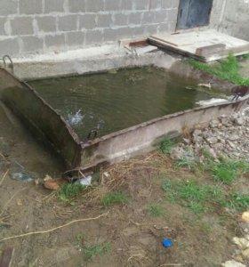 Емкость для бетона