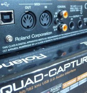🎼 Аудиоинтерфейс Roland UA-55 Quad-Capture USB2.0