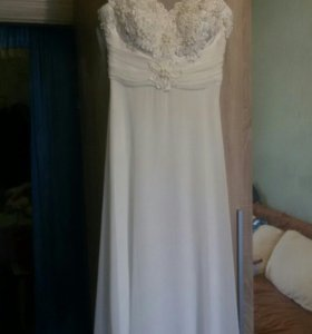 Платье свадебное 46р