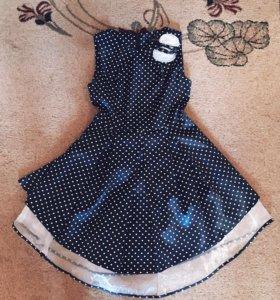 Платье в стиле стиляг.