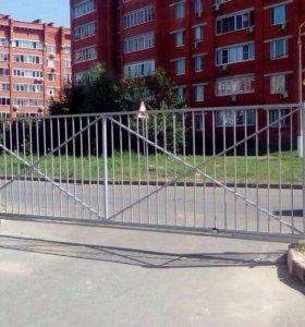 Ворота( секционные , откатные), рольставни