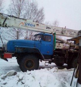 Автокран25т 15т