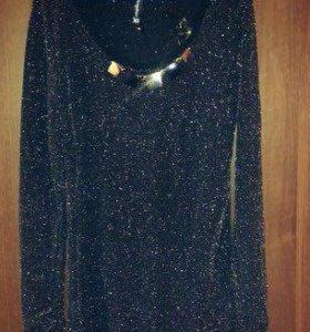 Платье с люрексом✨