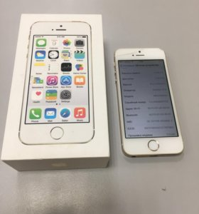 iPhone 5s a1457 16gb Gold