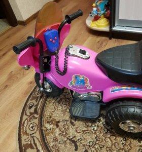 Электромотоцикл крошка пони
