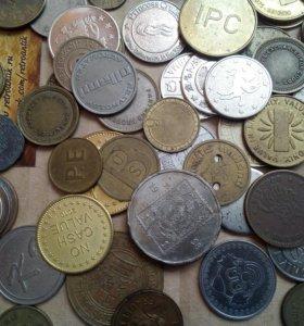 Иностранные жетоны