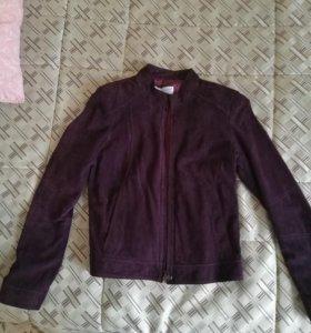 Куртка замшевая новая