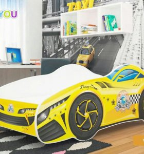 Кровать машина 140см.