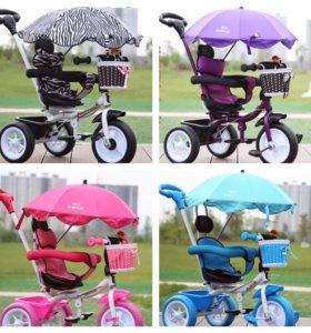 Велосипеды-коляски
