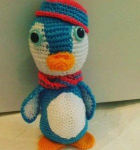 Пингвин Ручная работа