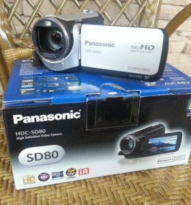 Видеокамера Panasonic HDC-SD80