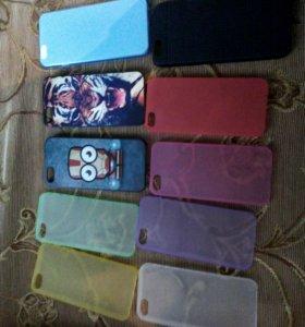 Чехлы для iphone 5/5s, 6