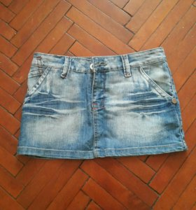Юбка джинсовая HLD новая