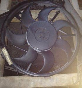 Вентилятор охлаждения двигателя Opel Astra