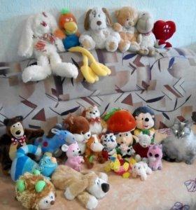 Мягкие игрушки (просто мягкие и музыкальные)
