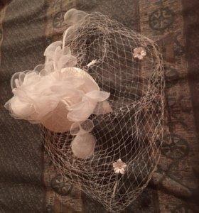 Свадебное украшение на голову