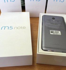 Meizu M5 Note 3/16 черный новый