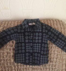 VERSACE детская рубашка