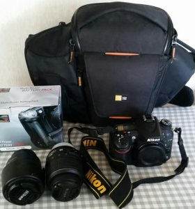 Nikon D7100 Kit и фоторюкзак