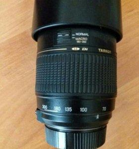 Телеобъектив Tamron 70-300 на Nikon