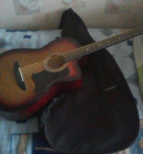 Акустическая гитара caraya c901t-bc