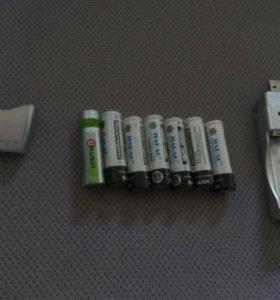 Зарядка для аккумуляторных батареек