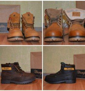 Кожаные ботинки Wrangler ОРИГИНАЛ