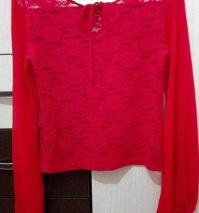 Блуза гепюр
