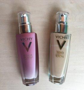 Крем и тон Vichy