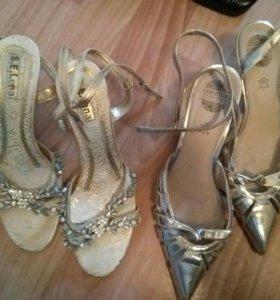 Туфли, босоножки и ботфорты