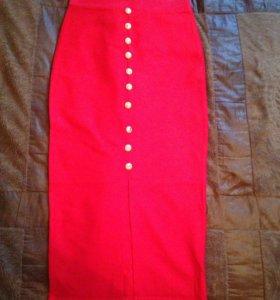 Юбка резинка - от 1500р., блузка - от 1300р.