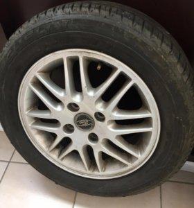 Литые диски с резиной R15 Ford