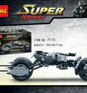 """Агалог Лего Decool 7115 """"Мотоцикл Бэтмена""""новый"""