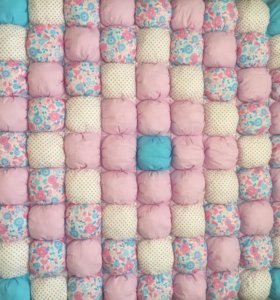 Одеяло коврик бомбон детское