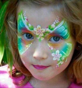 Аквагрим для детей на праздник