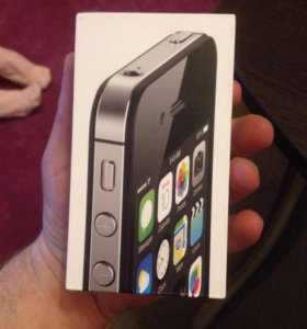 Коробка от айфона 4s