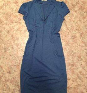 Синее платье 👗
