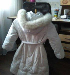 Пальто зимние пух