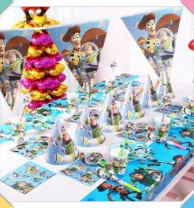 История игрушек посуда для праздника