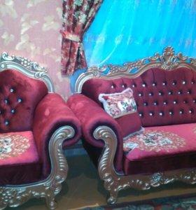 Диван борокко и кресла