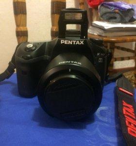 Зеркальный фотоаппарат Pentax K10D