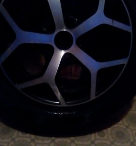 2- колеса от опель астра литые R16. 89531911737