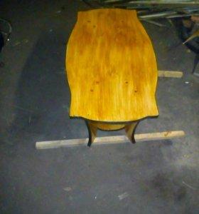 Столы стулья полки