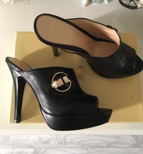 Новые сабо Moda Donna туфли босоножки (кожа)