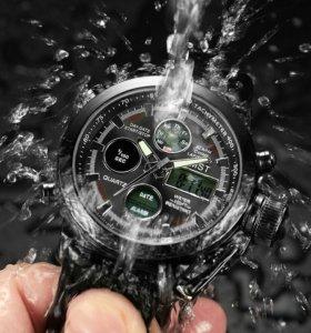 Часы AMST Black